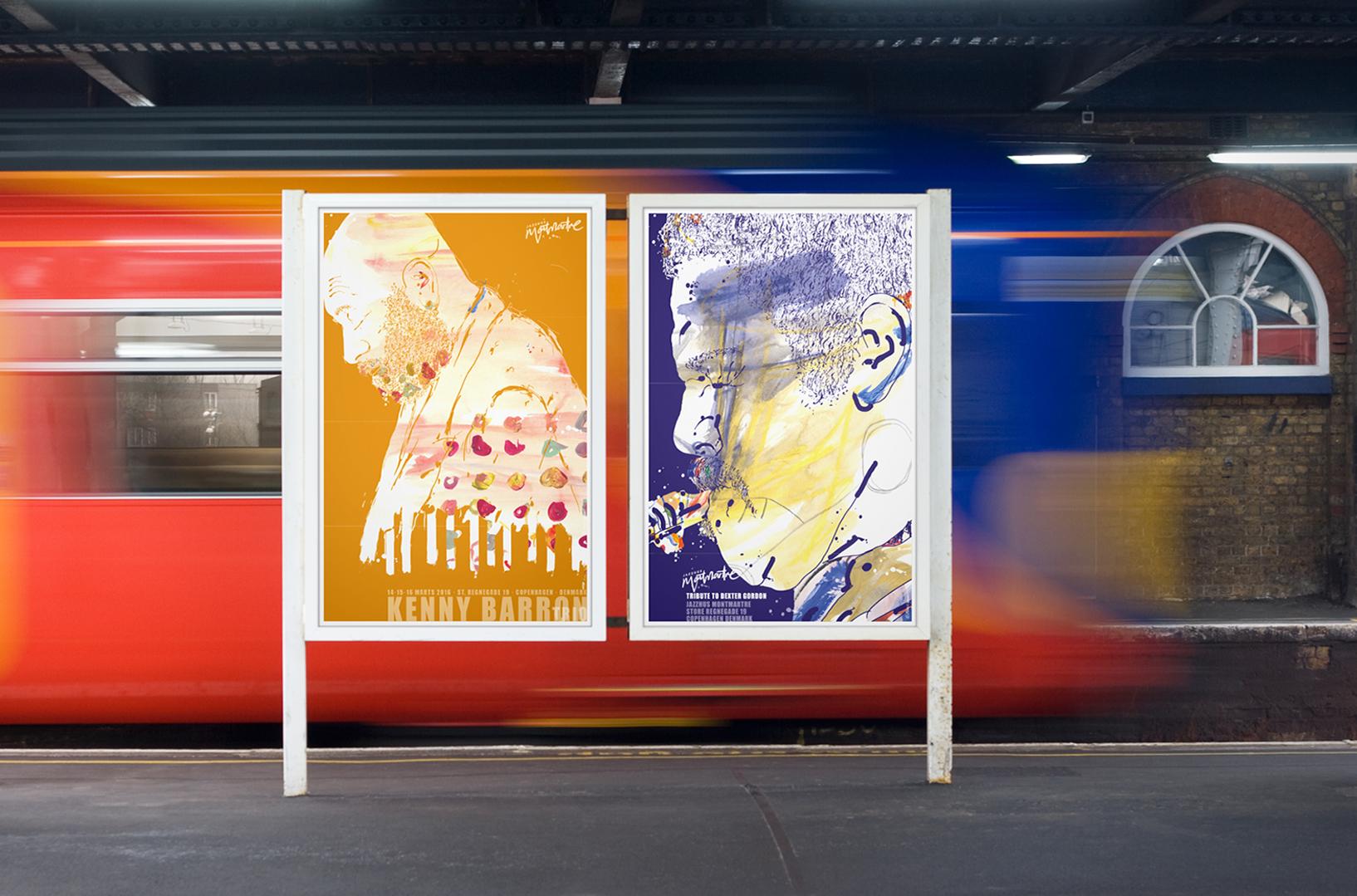 Jazzhus Montmartre · Poster tributes