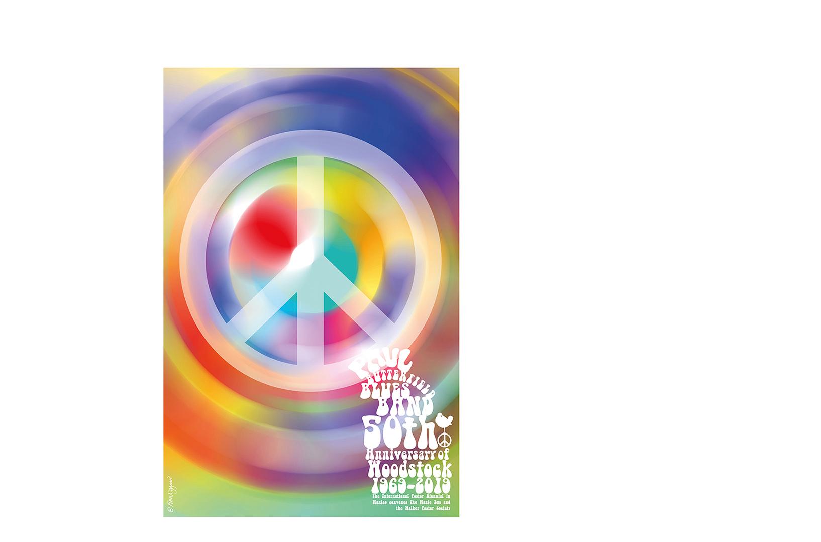 Woodstock · 1969-2019 · 50th anniversary · poster